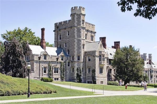 Đại học Princeton, Mỹ được xếp ở vị trí thứ 7.