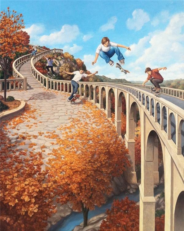Mạo hiểm và khám phá thế giới, đó chính là cách để trẻ con lớn lên.
