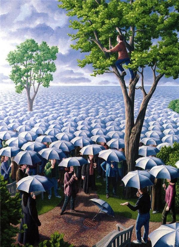 Hãy dám từ bỏ những chiếc ô che trên đầu, từ bỏ những tư tưởng khiến chúng ta vẫn luôn sống trong tối tăm và u mê, hãy dám vươn lên với ánh sáng, với tri thức, với những điều lớn lao hơn.