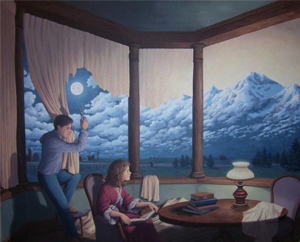 Hãy gỡ bỏ những tấm rèm vẫn luôn che khuất tầm nhìn của mình để thấy rằng thế giới ngoài kia tươi đẹp và rộng lớn biết bao.