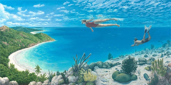 Bầu trời và biển cả có còn giữ được màu xanh hay không, con người có còn chung sống được với thiên nhiên hay không, tất cả là do ý thức giữ gìn của chúng ta.