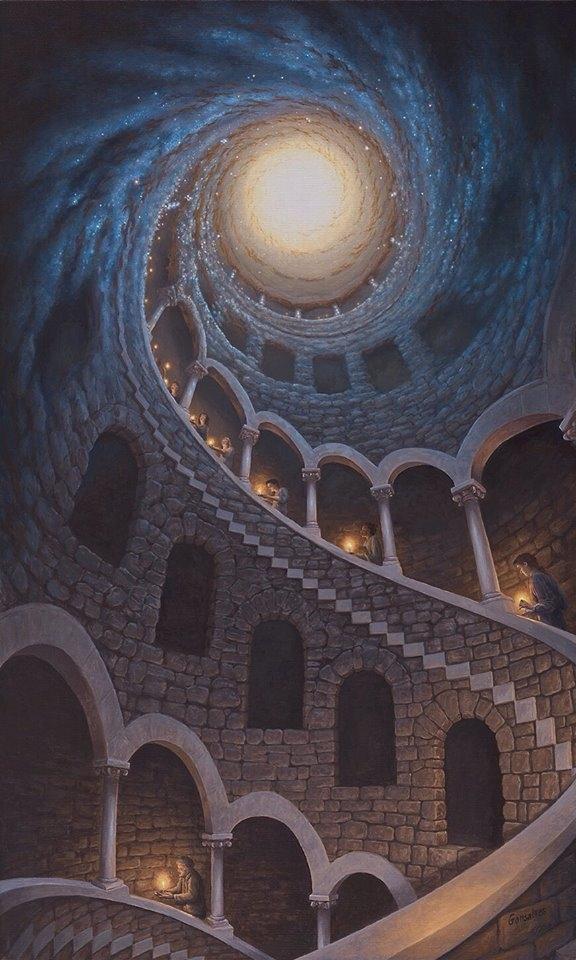 Trên những nấc thang dẫn đến các vì sao luôn có ánh sáng của các linh hồn soi đường dẫn lối.
