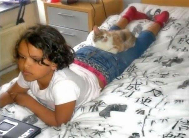 Cô bé 7 tuổi, ân nhân và hiện cũng là chủ nhân của chú mèo xấu xí. Tuy không ai biết được tên của cô bé này, nhưng câu chuyện về tình yêu và lòng dũng cảm của em đã được rất nhiều tổ chức xã hội tại địa phương, và những hoạt động vì cộng đồng trong nước tôn vinh và noi theo.(Ảnh: Internet)