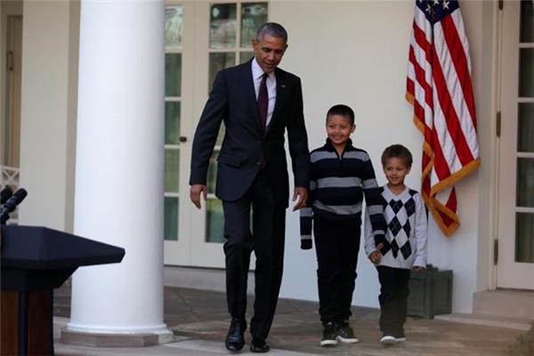 Chú gà tây cuối cùng được Tổng thống Obama