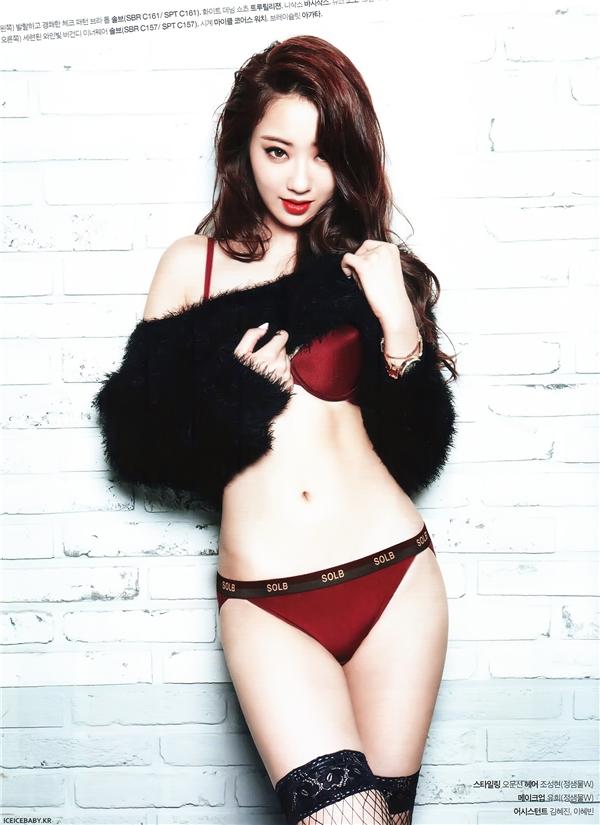 Bỏng mắt với Top 10 nữ thần tượng sexy nhất Kpop
