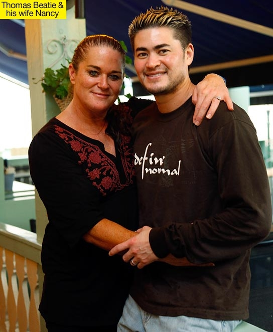 Năm 2003 Thomas gặp và kết hôn với Nancy.