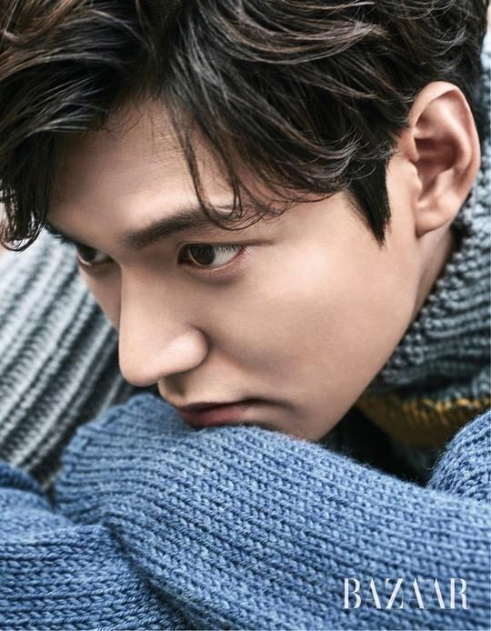 Lee Min Ho luôn là gương mặt quen thuộc trên các mặt báo...