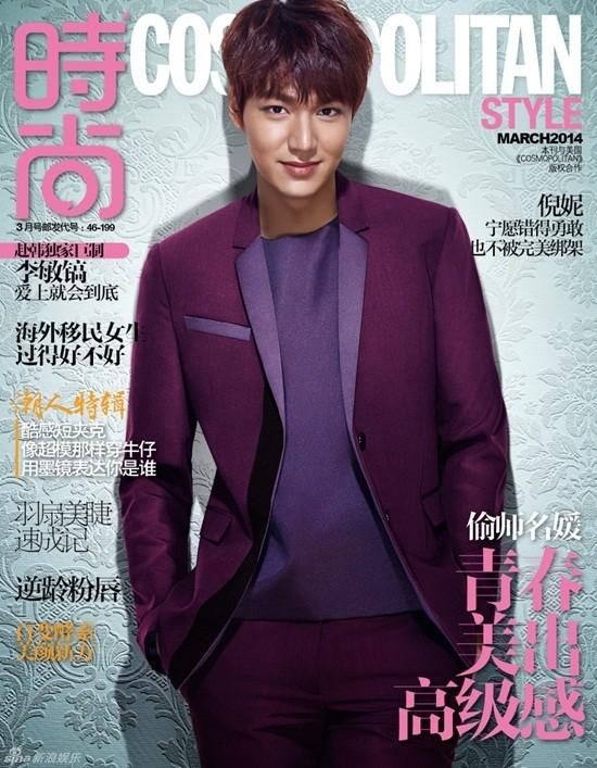 Những lần Lee Min Ho xuất hiện trên tạp chí đều có sự đầu tư rất kỹ lưỡng về hình ảnh với sự chỉn chu đến từng chi tiết.