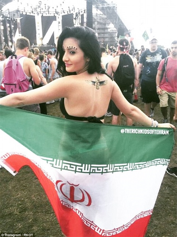 Khi hội con nhà giàu Iran lên tiếng, cả thế giới phải sững sờ