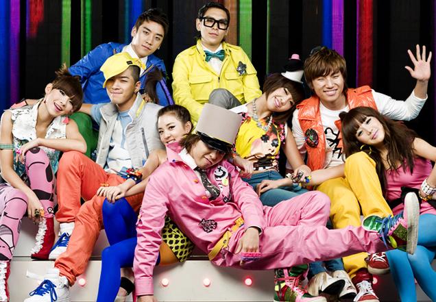 """2NE1 gặp Kpop fan lần đầu vào tháng 3/2009 qua MV quảng cáo """"Lollipop"""" với Big Bang."""
