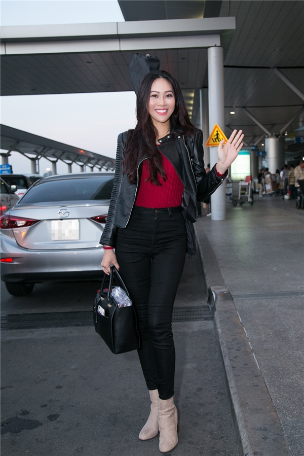 Diệu Ngọc mang hơn 100 kg hành lý tham gia Miss World 2016