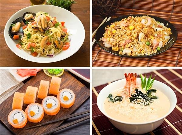 Bạn nhất định phải thử các món hải sản khi đến Nhật.