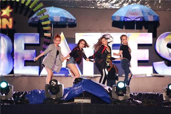 4 cô gái cá tính trong nhóm S Girls sẽ thể hiện một ca khúc quen thuộc của nữ ca sĩ Maya - Tin sao Viet - Tin tuc sao Viet - Scandal sao Viet - Tin tuc cua Sao - Tin cua Sao