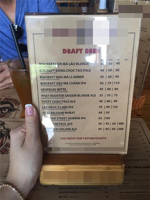 Đố ai phiên dịch được cái menu này đấy.(Ảnh: Internet)