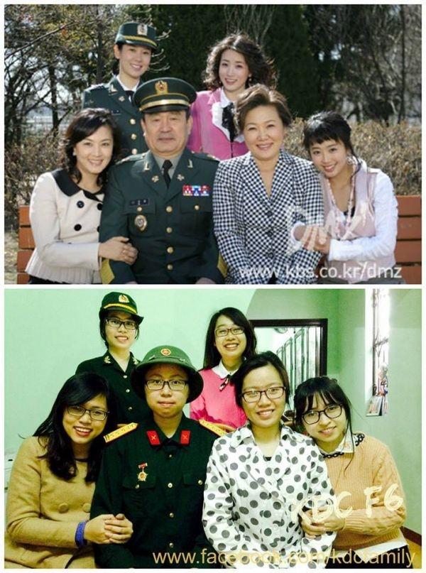 """""""Những nàng công chúa nổi tiếng"""" phiên bản Việt.(Ảnh: Internet)"""