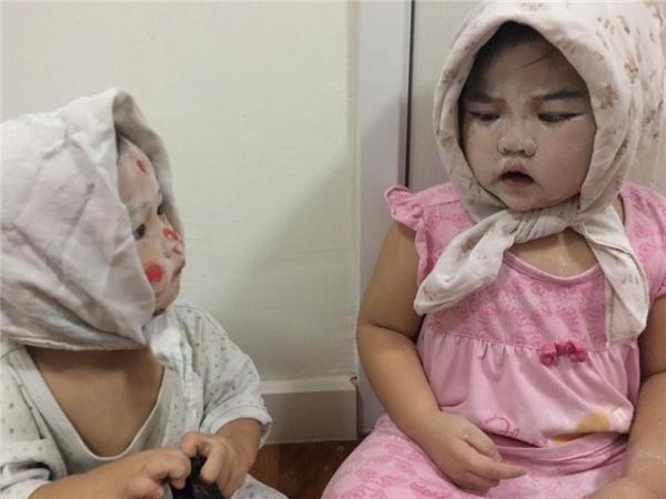 """Em bé Vô Diện phiên bản """"má bánh đúc"""".(Ảnh: Internet)"""
