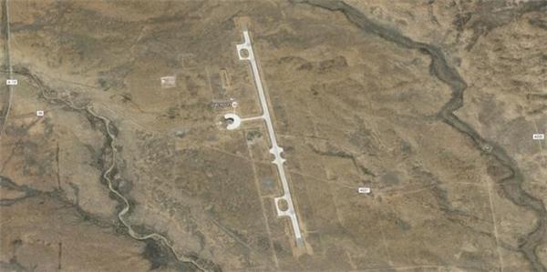 Đường băng và trung tâm thử nghiệm của Google. (Ảnh: internet)