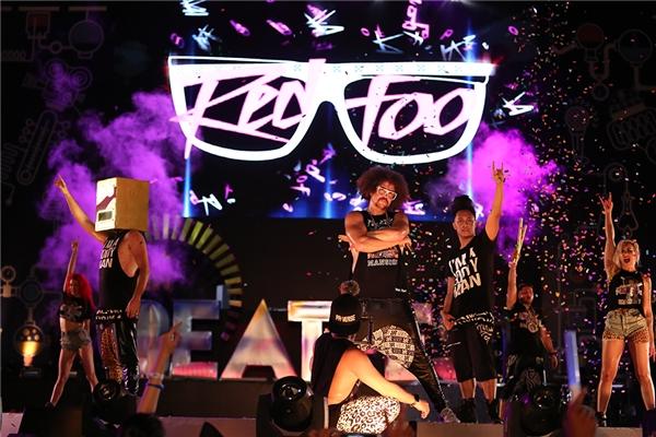 Redfoo đã để lại kỉ niệm đẹp trong lòng khán giả YAN Beatfest 2016.
