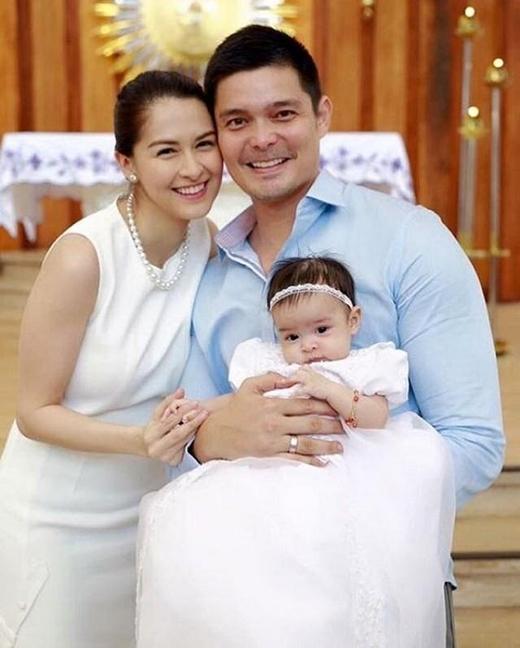 Dù có là người nổi tiếng, hạnh phúc của gia đình là không gì sánh được.