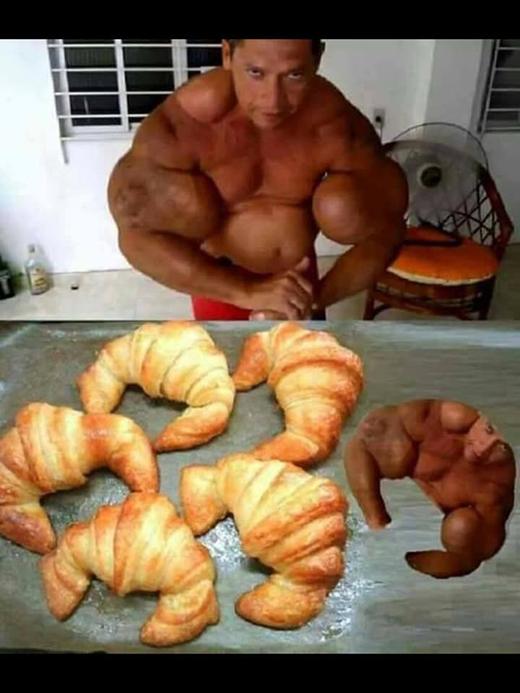 Cơ bắp thôi mà, bánh nó còn có thì huống chi là mình!