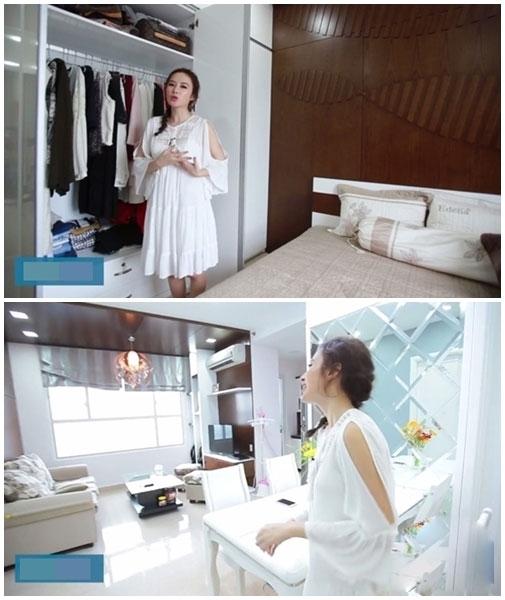 Dù chưa mua được nhà riêng nhưng nữ diễn viên khiến không ít người ngưỡng mộ khi cô đang sống trong một căn hộ đi thuêrất sang trọng và tràn ngập màu trắng. - Tin sao Viet - Tin tuc sao Viet - Scandal sao Viet - Tin tuc cua Sao - Tin cua Sao