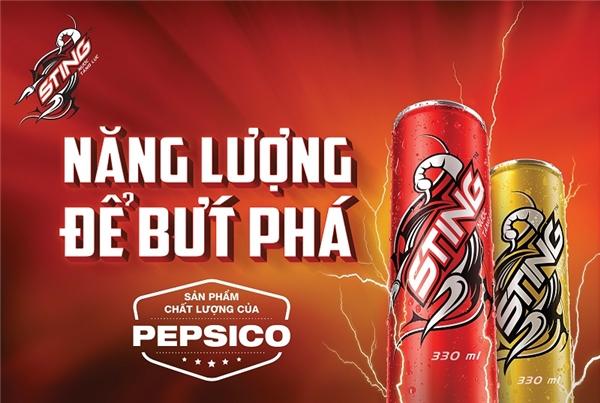 PepsiCo Trust Mark – Dấu ấn bảo chứng cho chất lượng Sting từ tập đoàn PepsiCo.