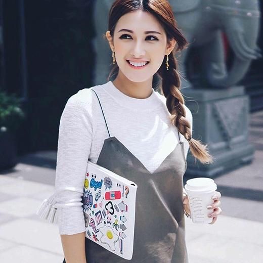 """Danh tính """"Tây Thi"""" đã được xác định là Emmy Nguyễn, một cô gái lai giữa 3 dòng máu Úc, Thái và Việt."""