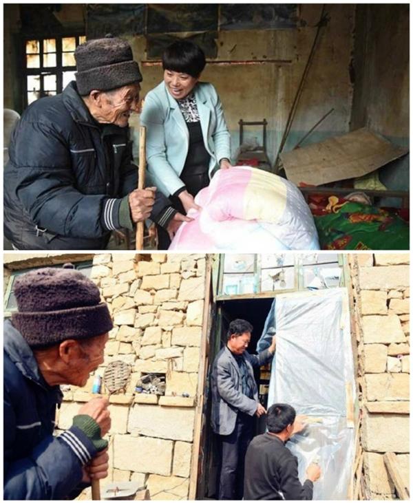 Nhờ có sự giúp đỡ từ xóm giềng cũng như chính quyền địa phương mà cuộc sống của hai vợ chồng đã đỡ vất vả hơn rất nhiều.