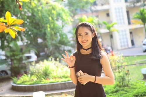 Cô nàng hy vọng sẽ phát triển sự nghiệptheo hướng MC và đi du học thạc sỹ.