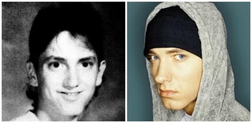 """Joe Manganiellogiờ đây đã trở nênlực lưỡng hơn bao giờ hết.  Gương mặtJennifer Garner trông gọn gàng, sắc nét hơn trước đây. Chàng rapper của I'm not afraid -Eminem đã trưởng thành cực kỳ """"chuẩn men"""".  Siêu mẫu U40Kate Mossvới vẻ đẹp quá xuất sắc so với thuở ấu thơ."""