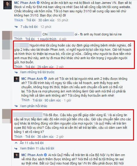 Vừa lấy lại Facebook, Phan Anh đối diện