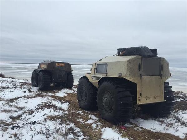 Sherpa được trang bị động cơ diesel Kubota. (Ảnh: internet)