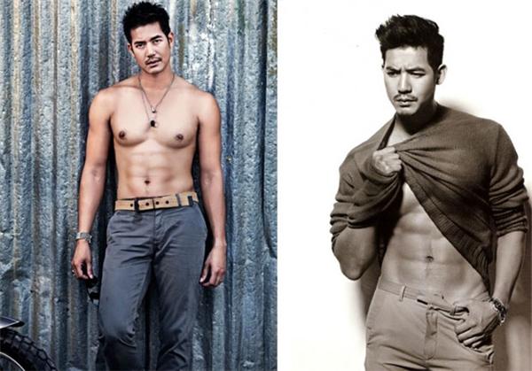 Weir Sukollawat là một trong những diễn viên nam tính nhất nhì làng giải trí Thái Lan.