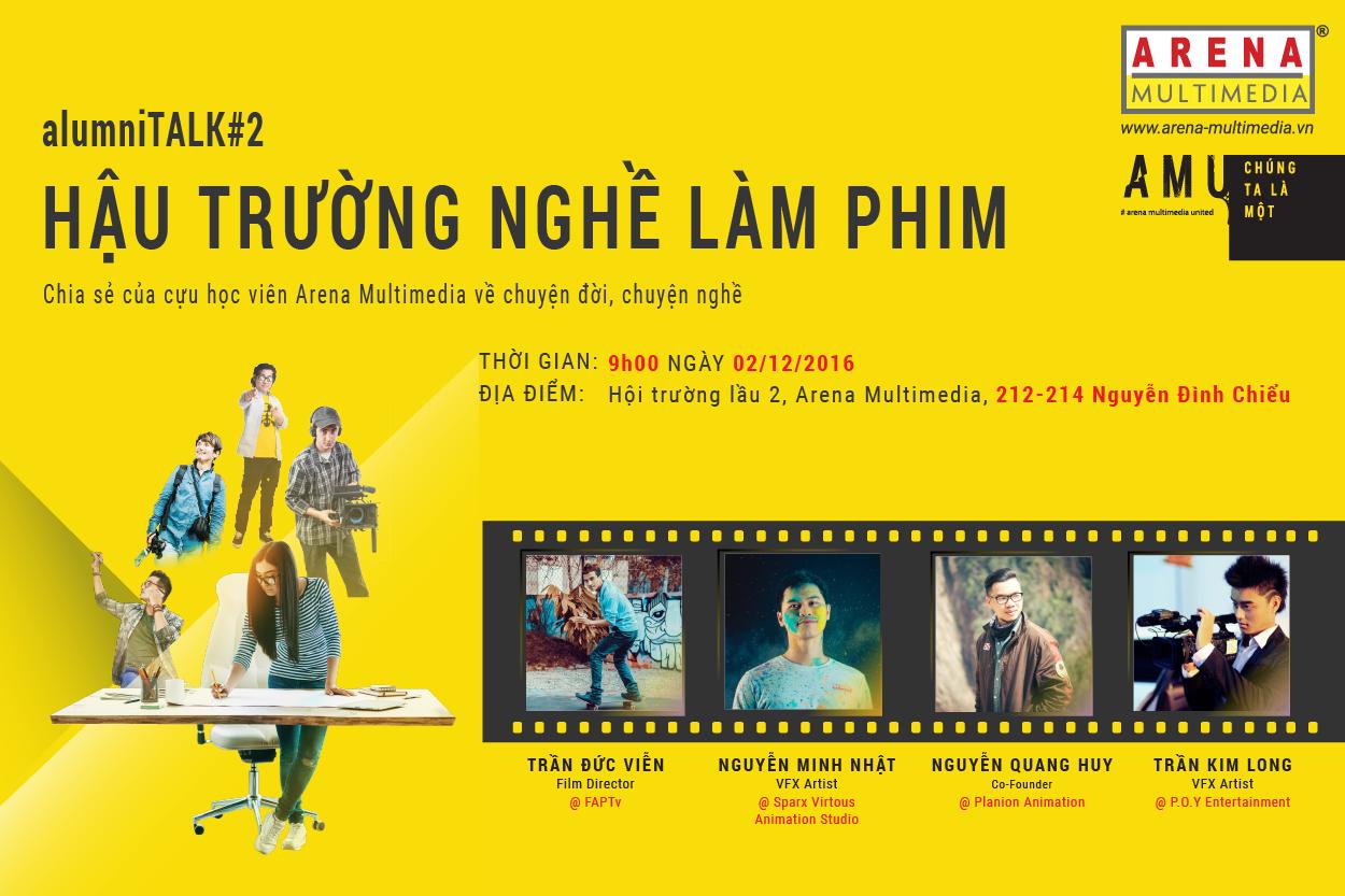 alumniTALK #2: Hậu trường nghề làm phim
