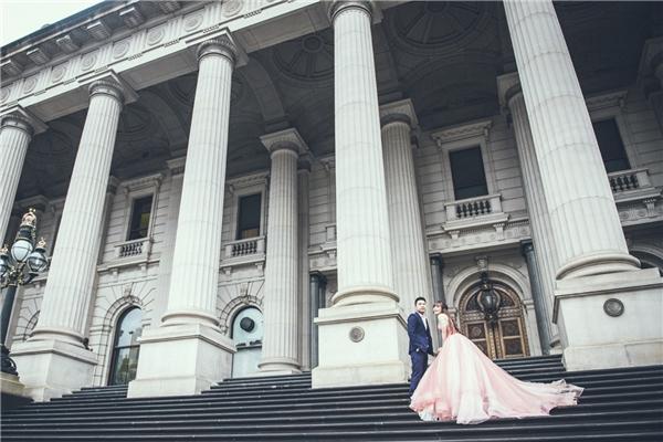 Ngây ngất trước bộ ảnh cưới