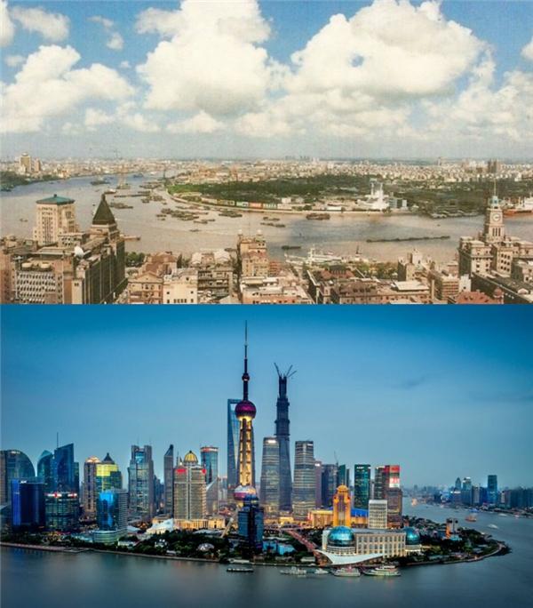 Thượng Hải, Trung Quốc: 1990 - hiện tại