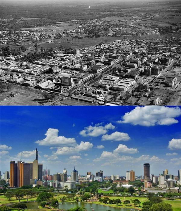 Nairobi, Kenya:Những năm 1960 - hiện tại