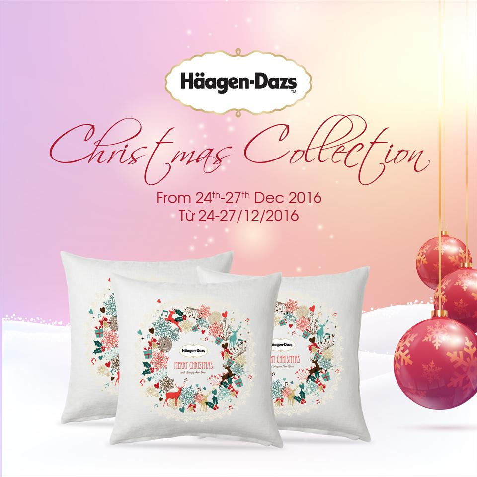 Häagen-Dazs ra mắt Bộ sưu tập kem lạnh Giáng Sinh siêu cao cấp