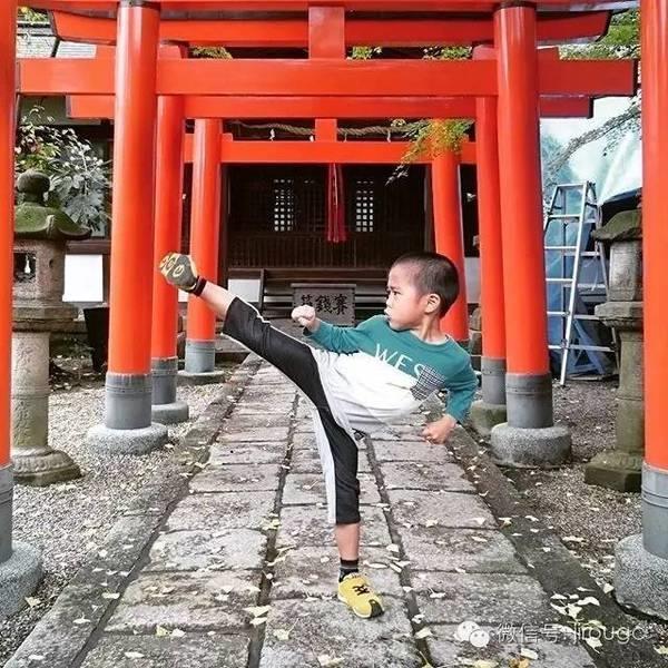Niềm đam mê võ thuật đã ăn sâu vào máu Ryusei.