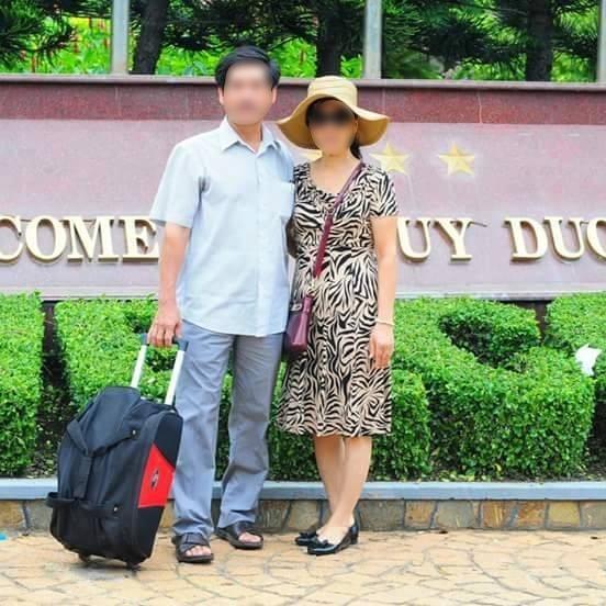 Vợ chồng ông Trần Văn D. cha mẹ ruột của anh T.Đ.Linh (Ảnh: Internet)