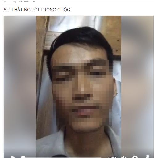 """Anh T.Đ.Linh livestream để bảo vệ người yêu và mong mọi người đừng """"gạch đá"""" gia đình mình (Ảnh: Chụp từ Clip)"""