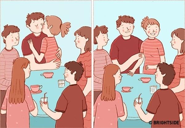 Hãy nhìn lại xem bạn bè xung quanh có nhận định, cảm giác ra sao về mối quan hệ của hai người. Hai người lúc nào cũng gây khó chịu cho mọi người vì lúc nào cũng chìm đắm vào thế giới riêng? Hay hai bạn luôn hòa đồng, nói chuyện vui vẻ với cả hội?