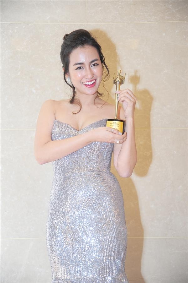 DJ Trang Moon nhận giải