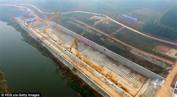 Lễ khởi công đóng tàu ở Tứ Xuyên