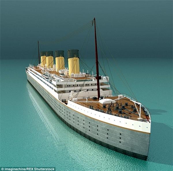 Con tàu sau khi hoàn thành sẽ được thả neo vĩnh viễn ở sông Thanh Y Giang tại Tứ Xuyên.