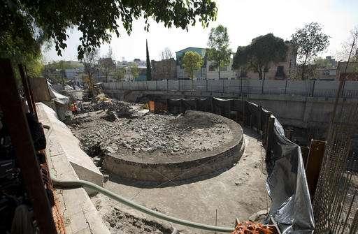 Ngôi đền được phát hiện bên dưới một siêu thị cũ. (Ảnh: internet)
