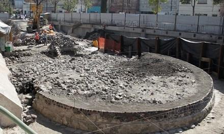 Ngôi đền có kiến trúc hình tròn. (Ảnh: internet)