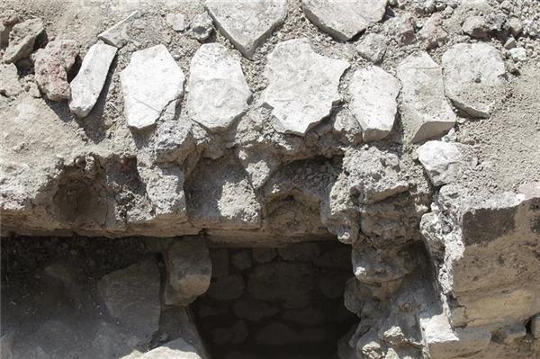 Lối vào đền thờ. (Ảnh: internet)