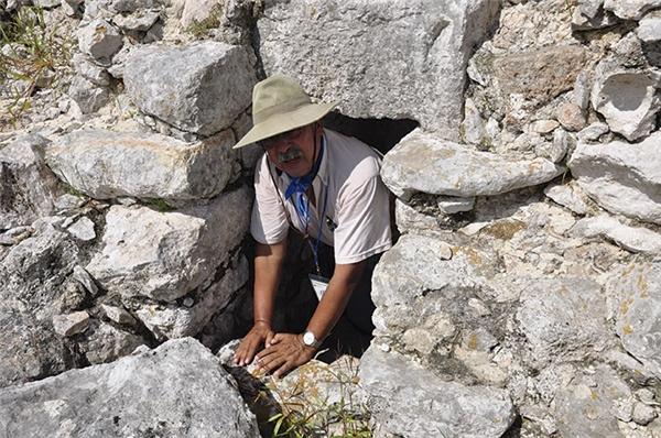 Nhà khảo cổ học Salvador Guilliemcho biết ngôi đền vẫn còn tương đối nguyên vẹn. (Ảnh: internet)