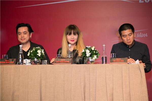 3 giám khảo của chương trình sẽ là Hồ Hoài Anh, Lưu Thiên Hương và Dương Khắc Linh. - Tin sao Viet - Tin tuc sao Viet - Scandal sao Viet - Tin tuc cua Sao - Tin cua Sao